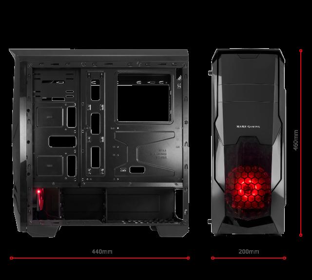 Semitorre gaming MC5 Mars Gaming