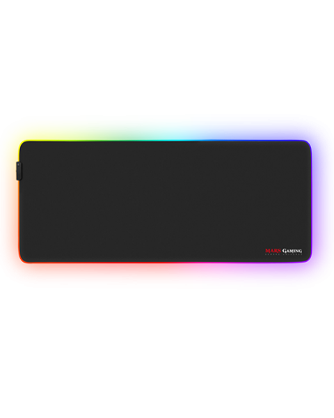 7 RGB Colors /& 2 Lighting Effects ENHANCE LED Gaming Mouse Pad with Fabric Top
