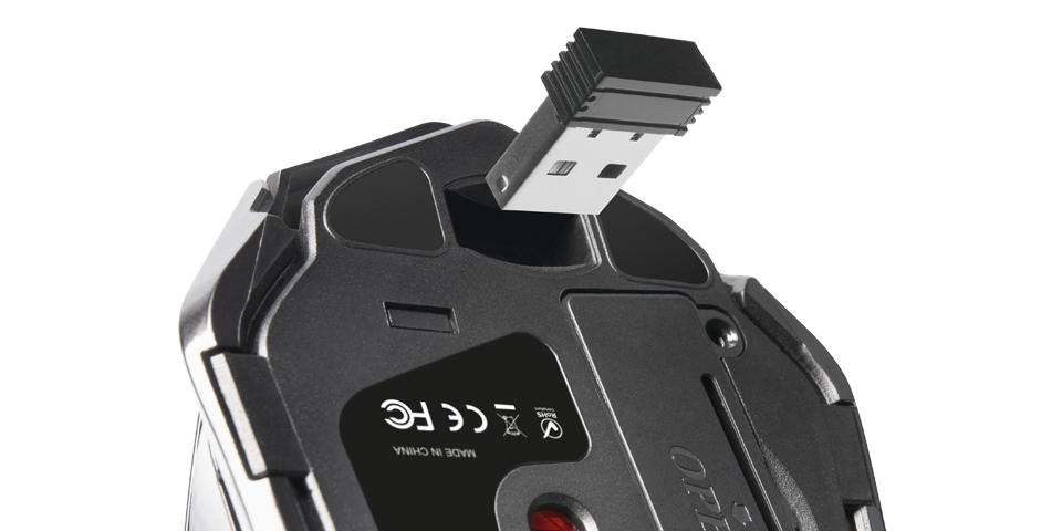 Integrated USB connector