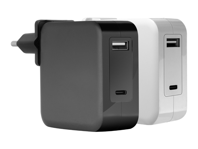 Alimentación USB-C & USB-A