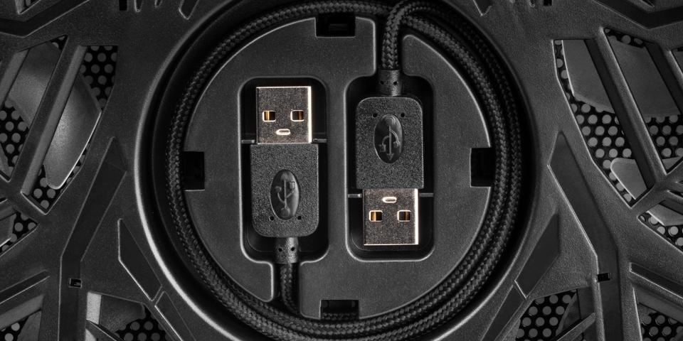 Ranura para cable USB